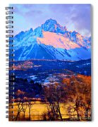 Mount Sneffels Spiral Notebook