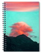 Mountain Daybreak Spiral Notebook