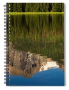 Mountain Reflection In Beirstadt Lake Spiral Notebook