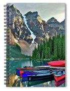 Mountain Tranquility Spiral Notebook