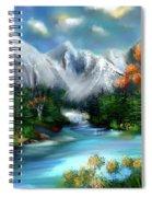 Mountains Majesty Spiral Notebook
