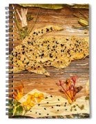 Movement Of Life Spiral Notebook