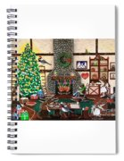 Ms. Elizabeth's Holiday Home Spiral Notebook