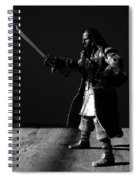 Blackbeard The Pirate Spiral Notebook
