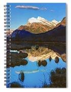Mt Rundle Spiral Notebook
