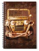 Mud Adventure Spiral Notebook