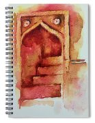 Mughal Architecture, Staircase Spiral Notebook
