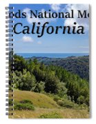 Muir Woods National Monument California Spiral Notebook