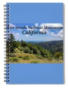 Muir Woods National Monument California Spiral Notebook