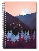 Mulberry Dusk Spiral Notebook