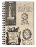 Mullins And Baskerville  Monument   State    Spiral Notebook