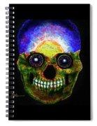Mundi Earth Sugarskull Spiral Notebook