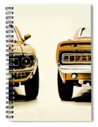Muscle Machine Spiral Notebook