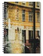 Museum Cafe Spiral Notebook