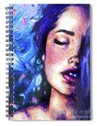 Music Of The Ocean Spiral Notebook
