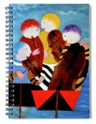 Music Performers Spiral Notebook