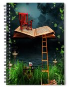 My Book Said Come Fly With Me Spiral Notebook