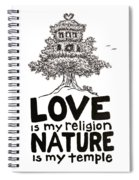My Mantra Drawing Spiral Notebook