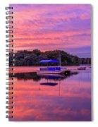 Mystic Lake Sunrise Spiral Notebook