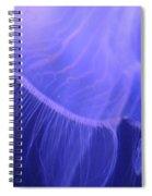 Mystical Jellyfish Spiral Notebook