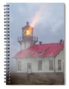 Mystical Point Cabrillo Lighthouse California Spiral Notebook