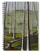 Naked Forest Spiral Notebook