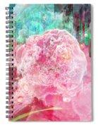 Nano Flower Bud Spiral Notebook