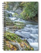 Nantahala Fall Flow Spiral Notebook