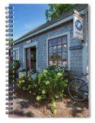 Nantucket Dock Spiral Notebook