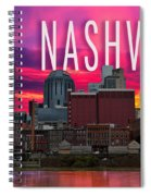 Nashville Spiral Notebook