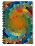 Native Sun Spiral Notebook
