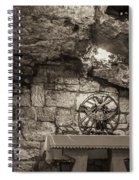 Nativity Cave Spiral Notebook