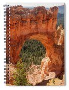 Natural Bridge - Bryce Canyon - Utah Spiral Notebook