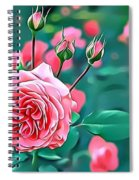 Naturalness And Flowers 31 Spiral Notebook