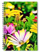 Naturalness And Flowers 35 Spiral Notebook