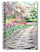 Naturalness And Flowers 36 Spiral Notebook