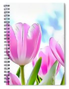 Naturalness And Flowers 40 Spiral Notebook