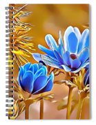 Naturalness And Flowers 47 Spiral Notebook