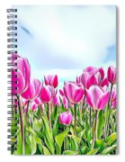 Naturalness And Flowers 48 Spiral Notebook