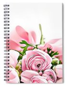 Naturalness And Flowers 49 Spiral Notebook