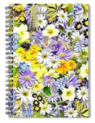 Naturalness And Flowers 54 Spiral Notebook