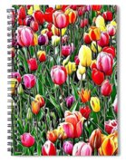 Naturalness And Flowers 55 Spiral Notebook