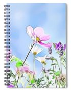 Naturalness And Flowers 59 Spiral Notebook