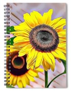 Naturalness And Flowers 60 Spiral Notebook