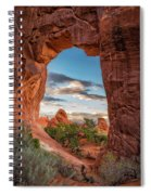 Nature's Picture Frame Spiral Notebook