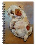 Naughty Puppy Spiral Notebook