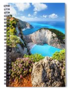 Navagio Bay Spiral Notebook