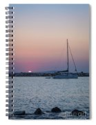 Naxos Island Spiral Notebook