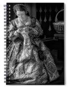 Needlework  4417bw Spiral Notebook