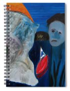 Never Never Land Spiral Notebook